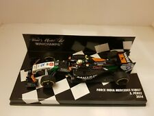 Minichamps 1/43 Force India MERCEDES VJM07 S. Perez 2014