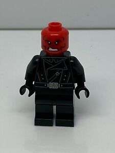 Lego Minifigure Red Skull Black Belt Super Heroes 76166