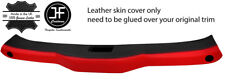 BLACK & RED FRONT TOP ROOF PANEL LEATHER COVER FITS HONDA CRX DEL SOL 1992-97