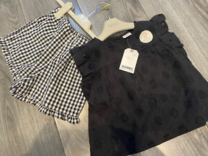Next Girls Summer Top And Shorts Outfit Bundle Age 3-4 BNWT