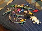 Large+lot+of+Vintage+and+New+Dinosaurs+Plastic