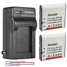 Kastar Battery Wall Charger for Kodak LB-060 & Kodak PixPro AZ525 PixPro AZ526
