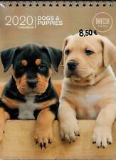 Dogs & Puppies - calendario 2020 da tavolo formato 20 x 15