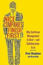 Nice Companies Finish First, Very Good, Shankman, Peter Book