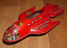 VINTAGE Dan Dare Terra Mars Venus Express SS Eagle BANDA STAGNATA giocattolo anni 1950 METTOY