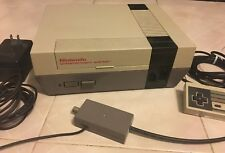 NES Console Nintendo Entertainment System All Cables Included Monopoly bundle