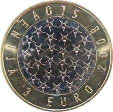 351 - 3 EUROS SLOVENIE 2008