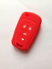 Red Fob Key Cover for CHEVROLET Malibu Camaro Cruze Equinox Sonic Spark Volt