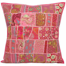 """20x20"""" Decorative Pillows embroidered pillow Indian Ethnic throw pillows cushion"""