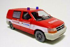 Busch 44654 Dodge Ram Van Betriebsfeuerwehr Eurostar Feuerwehr H0, Neu + OVP