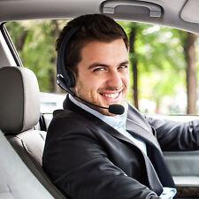 Wireless Bluetooth Noise Canceling Headset Headphone w/ Mic For Truck