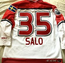 Tommy Salo 2000 NHL All-Star Game authentic CCM stitched white jersey NEW Oilers