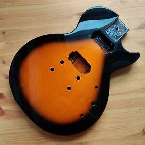Used Guitar Body Epiphone Les Paul Special II Tobacco Sunburst Bolt On 2004