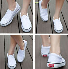 Men Women Canvas Flat Slip On Casual Shoes Sneaker DIY Hand Painted Shoes