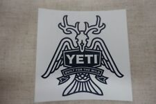 Yeti Decal Sticker Built for the wild