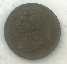 "Ca. 1860s United States Civil War Token George McClellan ""United States Copper"""