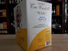 Chardonnay BAG IN BOX da 5 lt. 2019 Tre Castelli