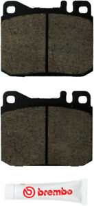 Disc Brake Pad Set-Brembo Front WD Express 520 01451 253