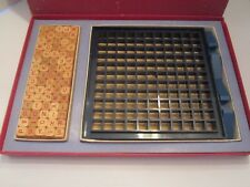 Scrabble Brand RSVP 3D Crossword Game 75 Wood Letter Cubes Crafts Jewelry