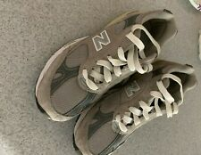 worn once or twice New Balance 991 women sz 8.5D, USA gray