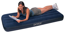 NewINTEX Single Junior large Airbed Inflatable Camping Air Mattress Classic