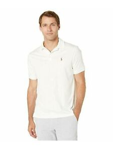 RALPH LAUREN Mens White Collared Classic Fit Button Down Hoodie S