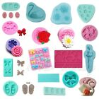 Silicone Mould Cake Decorating Cutter Gum Paste Fondant Sugarcraft Icing Tools n