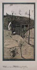 Hans von Heider - Das Haus Burr (Polen) - Farblithographie - 1916