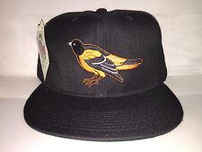 Vtg Baltimore Orioles NEW ERA Fitted hat cap size 7 3/4 MLB 90s cal ripken jr og