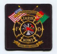 Afghanistan - Tarin Kowt Fire Department Crash Fire Rescue CFR Military Patch