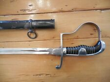 Wwii German Nco Sword and Scabbard by Eickhorn Solingen and Dove Head Hilt