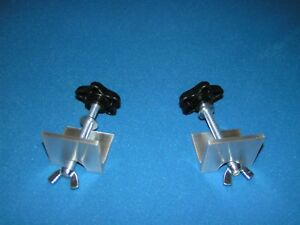 Clamps for Do It Yourself Canoe Motor Mount, Stabilizer, Rod Holder Crossbar