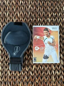 EA Sports Active: Personal Trainer (Nintendo Wii, 2004) with remote leg strap