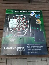 Halex  Tournament 1500 Electronic Soft-Tip Dart Board, NEW IN OPENED BOX