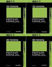 2011 Toyota Camry Hybrid Shop Service Repair Manual - Complete 4 Volume Set