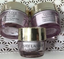 Set of Estee Lauder Resilience Lift  Face .5oz + Night .5oz + Eye Cream .17oz