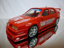 DICKIE ALFA ROMEO ALFA 155 - POWER CAR SYSTEMS - RED L26.0cm - GOOD - PULL BACK