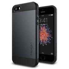 Spigen Sgp10365 Slim Armor S Custodia per iPhone 5s/5 Ardesia