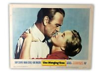 """""""The Hanging Tree"""" Original 11x14 Authentic Lobby Card Poster 1959"""