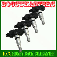 For GMC Honda Ford Chrysler Chevy Cadillac 1Set 4PCS Tire Pressure Sensor TPMS