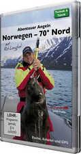 DVD-Video: Abenteuer Angeln in Norwegen - 70° Nord (Echolot GPS Montagen Köder..