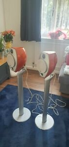 Sony Ultimate Luxury Audio System SS-LA500ED Orange. Rare!!! With Stand.