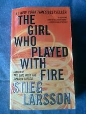 The Girl Who Played With Fire - Stieg Larsson Paperback  (A trilogy: book 2)