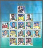 Australia-2000 Olympics Gold Medal Winners special sheet fine used cto
