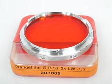 Zeiss Contarex Orangefilter O B56 3x -1,5 TOP mit Dose