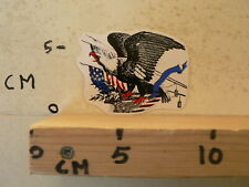 STICKER,DECAL AREND EAGLE AMERICAN USA FLAG