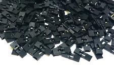 100 x Jumper Caps 2.54mm Mini Black color Header with handle Circuit Board Shunt