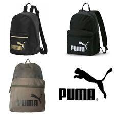 Puma Homme Sac à dos PHASE Sports Training Gym Voyage Noir Sacs à dos