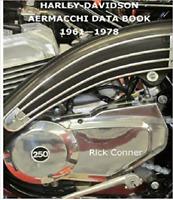 Harley-Davidson Aermacchi Data Book 1961-1978 ~ NEW!