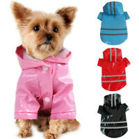 Haustier Hundekleidung Mantel Jacke Wasserdicht Kleidung Winter Hunderegenmantel